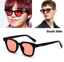 JackJad 2017 Fashion Hot Style South Side Ocean Lense Sunglasses Men Women Brand Design Square Frame Sun Glasses Oculos De Sol - Offical Store store