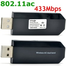 WTXUP for Realtek RTL8811AU Dual-Band 802.11ac 433Mbps USB Wireless WiFi Adapter PCB WiFi Antenna for Windows xp/7/8/10 MAC(China)
