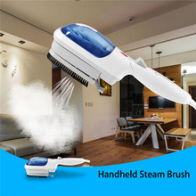 Portable Handheld Electric Fabric Iron Laundry Clothes Steam Brush For Home Travel Dry-cleaning Hair Dust Remover US Plug 800W(China)