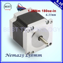 CNC Stepper motor 57x56 NEMA 23 stepper motor 3A 1.26N.m stepping motor 180Oz-in for CNC engraving milling machine 3D printer