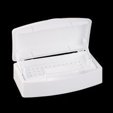 New Nail Sterilizer Tray Disinfection Pedicure Manicure Box Nails Art Boxes Sterilizing Salon Tools FM88(China)