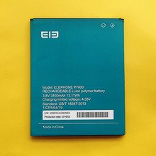 High Quality New Original Battery Elephone P7000 3450Mah elephant P7000 battery accessories 3.8V Li-ion Mobile Phone Batteries