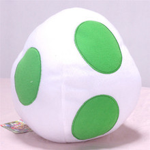 baby gift Super Bros Doll Yoshi Egg White 8 Plush Soft Doll Toy Gifts Stuffed Animal Figure Kawaii Kids Toys For Children Dolls