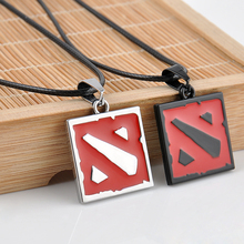 New 2015 Hot Network Game Dota 2 Pendant Necklace Europe America Women And Men Enamel Necklace Game Jewelry men's Gifts(China)