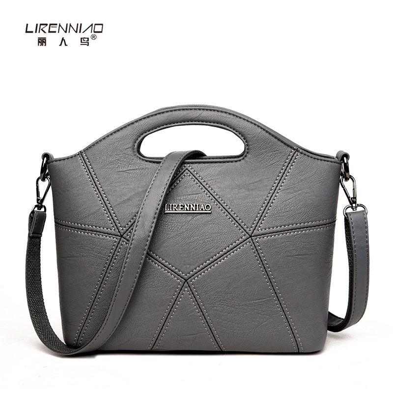 Famous Brand Designer Luxury Handbag for Ladies Pu Leather High Quality Shell Shoulder Bag Patchwork Fashion Women Messenger Bag<br>
