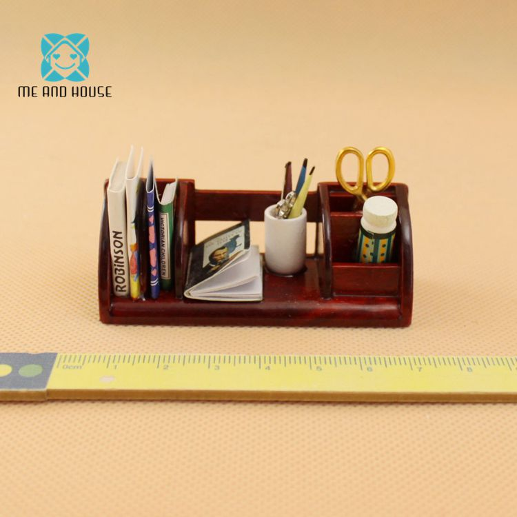 for your dollhouse study 1:12 scale Accessories 10 Miniature vintage letters