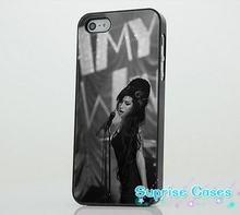 Amy Winehouse Singer Performing cellphone Case Cover for iphone 4 5s 5c SE 6 6s 6plus 7 7plus Samsung galaxy s4 s5 s6 s7 edge