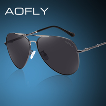 AOFLY Brand Polarized Sunglasses Men Classic Brand Designer Cool Style Eyewears Accessories Driving Sun Glasses AF8024(China)