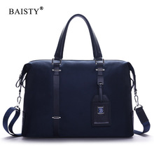 BAISTY New Design Fashion Men Shoulder Bag Famous Brand Design Waterproof Oxford Crossbody Messenger High Quality Men Tote Bag(China)