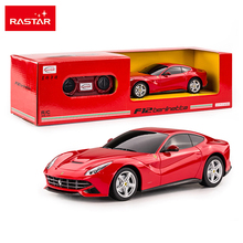 Licensed Rastar 1:24 RC Car 4CH Remote Control Toys Radio Control Cars Toys For Boys Kids Christmas Gifts F12 Berlinetta 48100
