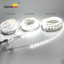 5m LED Light Good quality 5050 RGB Led Strip 5630 2835 12V 300Leds flexible Bar Neon tape lamp New Year Christmas Lighting