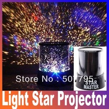 The sky constellation projector star master sound asleep lamp projectors led mini projector interactive nightlight for kids