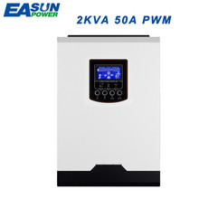 EASUN POWER 2kva 1600w Solar inverter 230vac 24vdc off grid inverter 50A solar charger  pure sine wave inverter battery charger