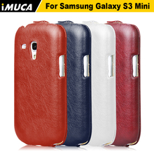 IMUCA for Samsung Galaxy S3 Mini i8190 cases covers Vertical Flip Case Cover Samsung Galaxy S3 Mini i8190 PU Leather bags cases