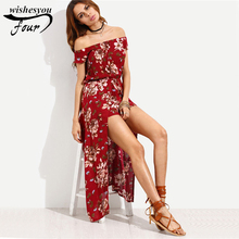 2017 Printing people cotton dress Europe and the United States women's foreign trade women's clothing beach casual dress 70A 30