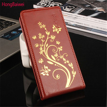 For Lenovo A1000 Case Phone Cover Luxury PU Leather Flip Case Cover For Lenovo A 1000 Vertical Open down/up Girl&Boy(China)