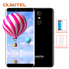 Oukitel c8 2gb ROM 16gb RAM Smartphone MTK6580A Quad Core Android 7.0 18:9 Infinity Display Mobile Phone Fingerprint Cell phone(China)