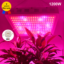 Full Spectrum 1200W LED Grow lights IR UV RED BLUE ORANGE WHITE For Flower Plants Stock in US/UK/GE/AU/CA(China)