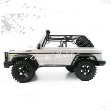 HG 1:10 Scaled 4*4 RTR off-Road RC Truck PNP(Plug and Play) Version, 4WD RC Rock Crawler Electric Toy Truck 2.4G(China)