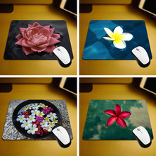 MaiYaCa Floating Flower Rubber Soft Gaming Mouse Games Black Mouse pad 18*22cm and 25*29cm