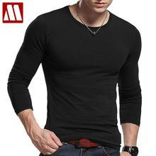 Free shipping o neck 5xl cotton men tee shirt high qualty base mens fitness tee shirts cotton t shirts summer mens basic t-shirt(China)