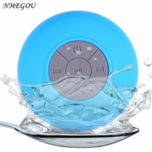 Bluetooth Speaker Portable Mini Wireless Waterproof Shower Speakers for Cell Phone MP3 Bluetooth Receiver Hand Free Car Speaker(China)