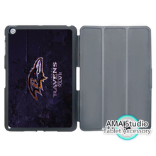 Baltimore Ravens Bowl American Football Case For Apple iPad Mini 1 2 3 4 Air Pro 9.7 Stand Smart Folio Cover