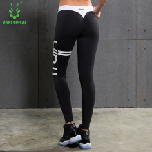 Women Compression Pants Fashion Bodybuilding Jogger Exercise Fitness Skinny Comperssion Tights Pants Trousers Clothes(China)