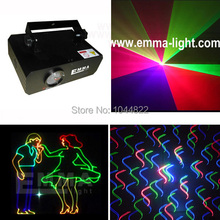 500mW rgb 2D +animation gobos laser light with SD card interface(China)