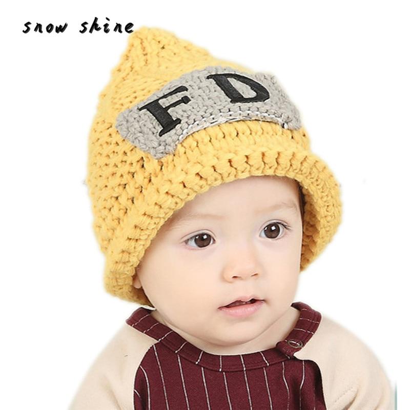 snowshine #3002  Cute Winter Baby Kids Girls Boys Warm Woolen Caps Hats free shippingÎäåæäà è àêñåññóàðû<br><br><br>Aliexpress