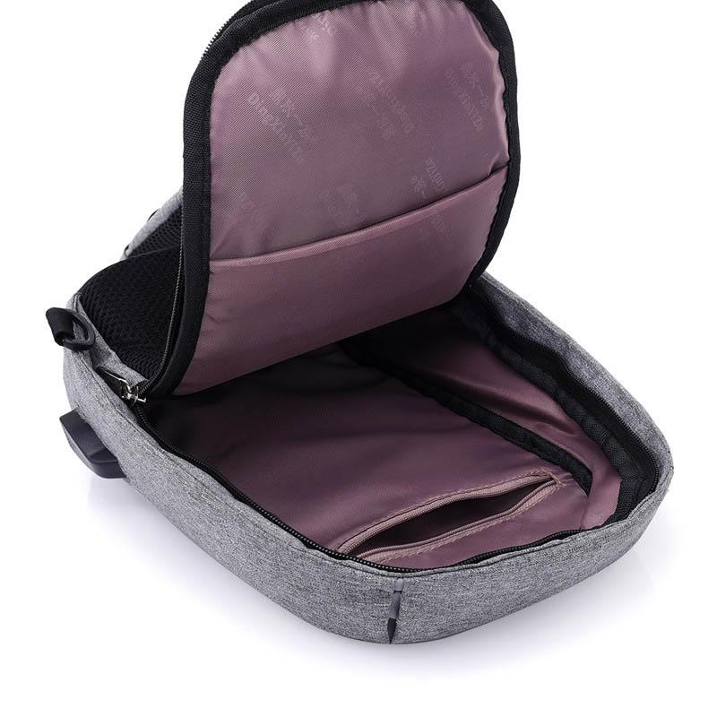 Men Anti Theft Backpack USB Rechargeable Crossbody Women Bags Boys Girls Single Shoulder Bag Backpacks Sac A Dos Homme BP0205 (4)