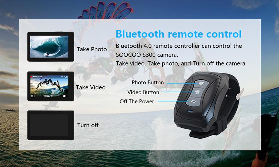 SOOCOO S300 4K 30FPS Sports Camera 2.35 Touchscreen Hi3559V100 IMX377 EIS Wifi External Mic GPS (11)