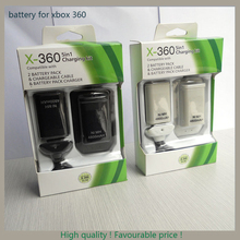 Excellent battery bateria pack 4800mah rechargeable battery for xbox 360 controller