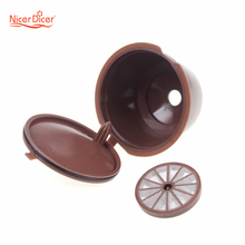 3pcs/pack Dolce Gusto 150 Times Servicelife Refillable Coffee Capsule Nescafe Reuseable Capsule Machine Filter Cap