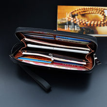 Fashion Luxury Men Wallet High Quality PU Leather Material Clutch Folding Bag Authentic Luxury Men Holding Large Capacity Wallet