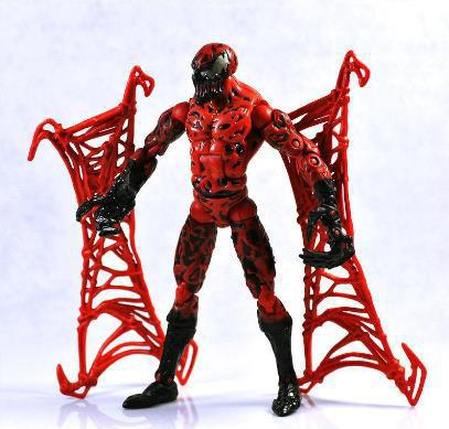 Free Shipping Marvel Universe Super Hero Spiderman CARNAGE Action Figures Toy Loose<br><br>Aliexpress