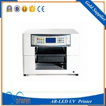 New A3 Uv Flat Inkjet Printer Machine in Candle ,Ceramic tile ,Acylic with Embossed Effect