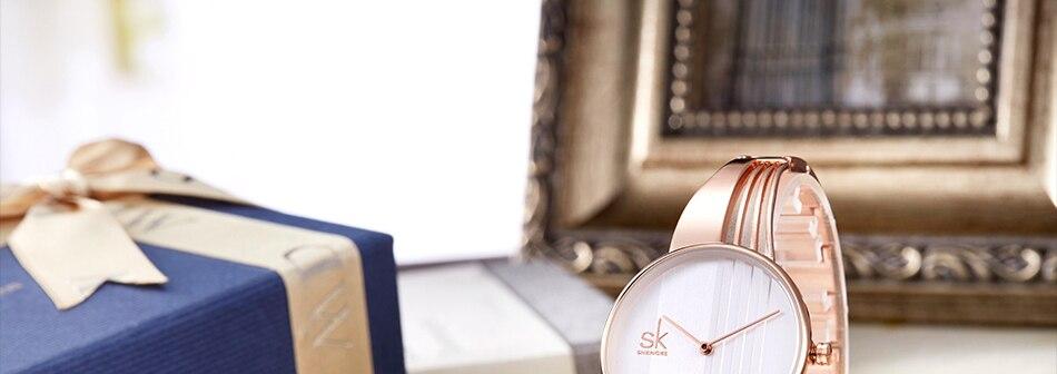 ساعة اليد سوار كوارتز  مطلية بالذهب 28
