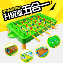 Kickball Toy 6 Bar Foosball Machine Table Football Game 3 to 6 Years Old Boy Gift Parent-Child Interaction Babyshining