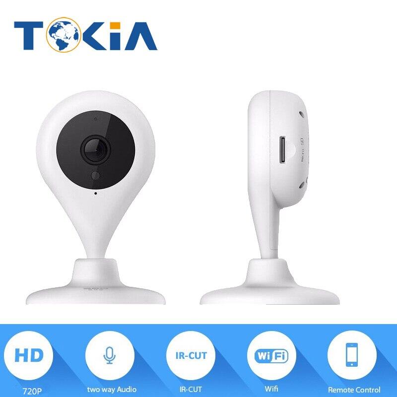 Raindrop Mini HD Smart WiFi Camera IP Wireless Home Security IP Camera mini WiFi 720P Mobile APP wifi monitor View Camera<br>