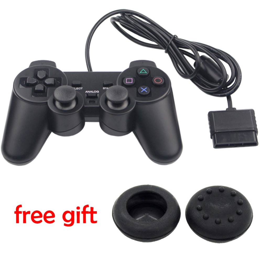 blueloong 1.8 m cablato Game Controller Bluetooth Gamepad for Sony PS2 Controller FOR Playstation 2 Dualshock 2 Joystick Console(China)