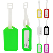 High Quality Travel Luggage Bag Tag Name Address ID Label Plastic Suitcase Baggage Tags(China)