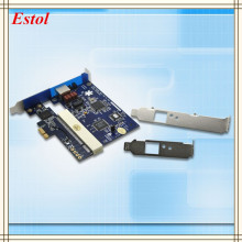 New Digital Asterisk E1 card PCI-Express Slot,E1/T1/J1 Telephony Voice card ISDN PRI Card