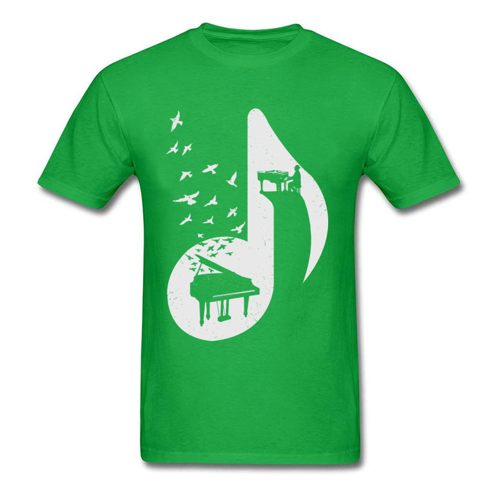 Musical note - Piano_green