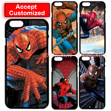 Spider Man Durable Plastic Case Cover for LG G2 G3 G4 G5 G6 iPhone 4 4S 5 5S SE 5C 6 6S 7 Plus iPod Touch 5 Sony Z2 Z3 Z4 Z5