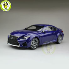 1/18 Toyota Lexus RCF Diecast Model Car Suv hobby collection Gifts Blue