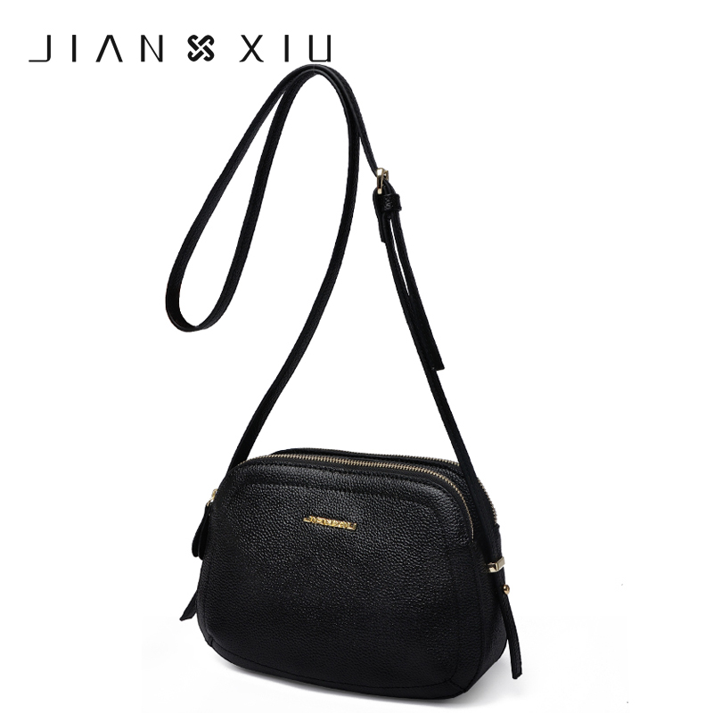 JIANXIU Small Crossbody Bags for Women Genuine Leather Luxury Handbags Women Bags Designer 2017 Shoulder Messenger Bag Handbag<br>