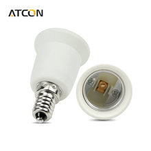 1Pcs E14 to E27 Fireproof Material lamp Base type  Holder Socket lighting Bulb Adapter Conversion