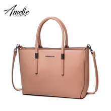 AMELIE GALANTI women handbags fashion design shoulder bag solid hard high quality totes lady party office shopping bag new 2017
