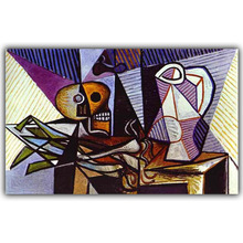 Picasso Abstract Paintings Modern Art Image For Home Decoration Silk Canvas Fabric Print Poster Wallpaper CX192